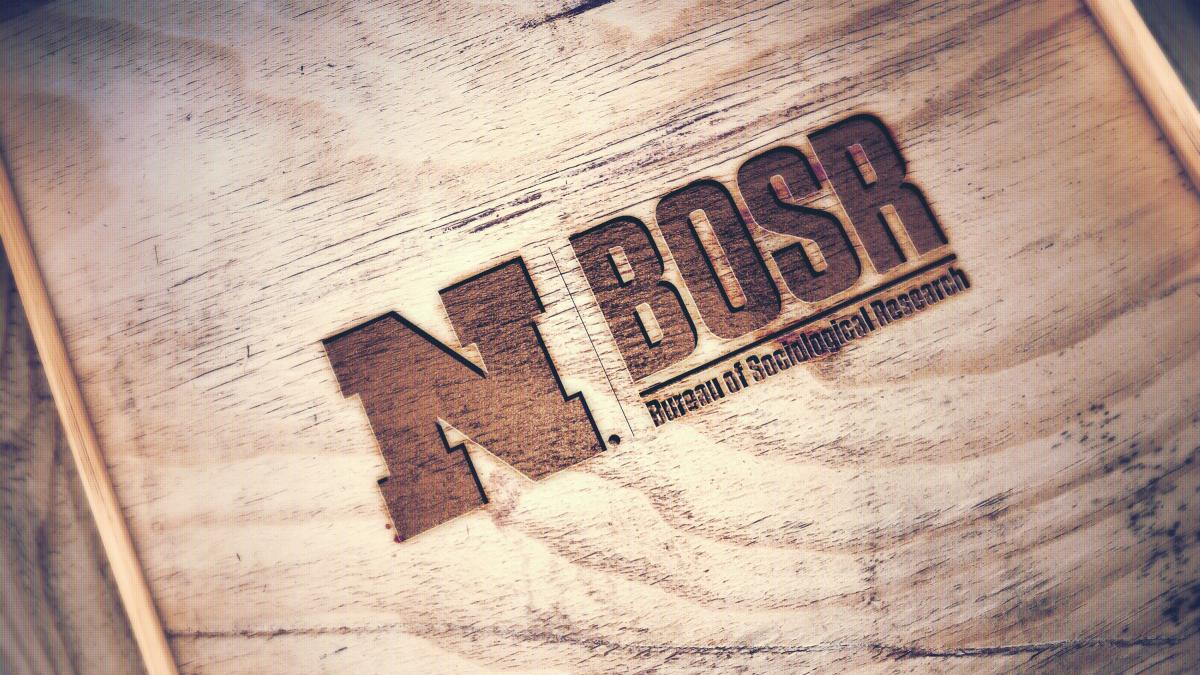 The BOSR logo engraved into wood